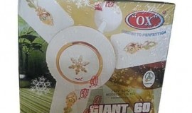 OX 60W Ceiling Fan White*