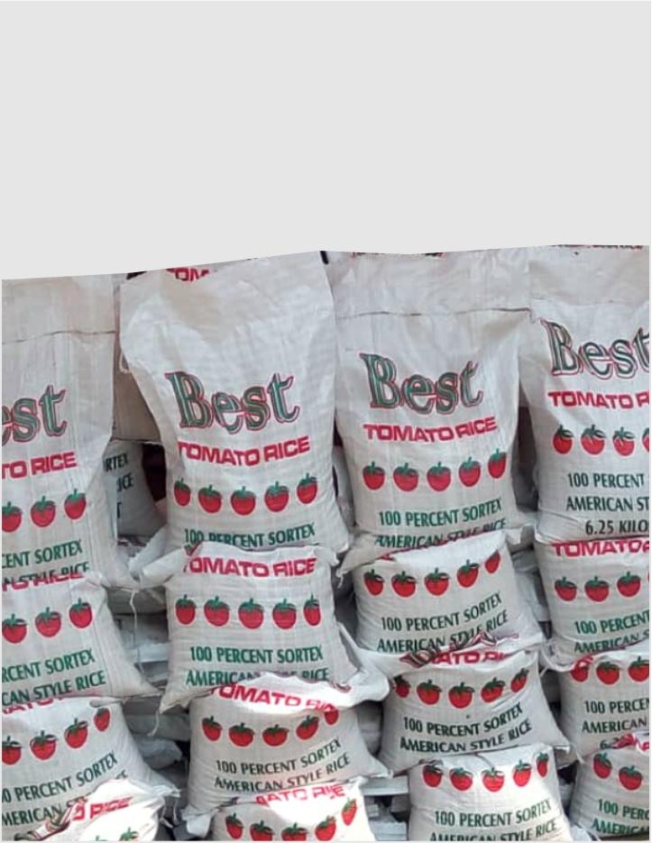 6.25kg Bag Of Rice
